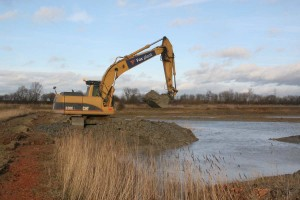Nature Reserve Pond Construction