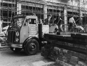 London Brick Transport Lorries